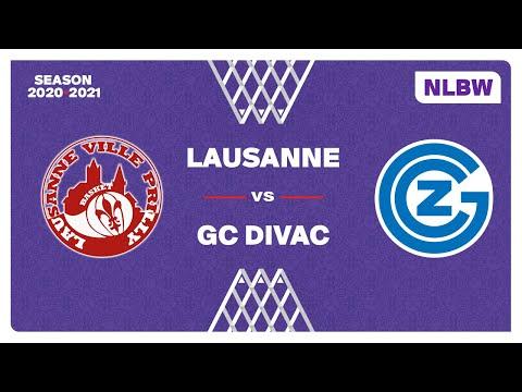 NLB Women – Playoffs 1/2 Finals : LAUSANNE-VILLE vs. GC-DIVAC