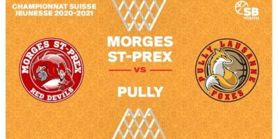 U17 NATIONAL M - Day 13: MORGES vs. PULLY