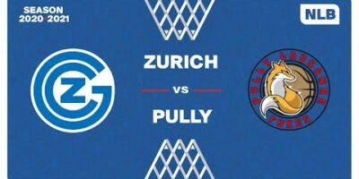 NLB Men - Playoffs 1/4 Finals : ZÜRICH vs. PULLY