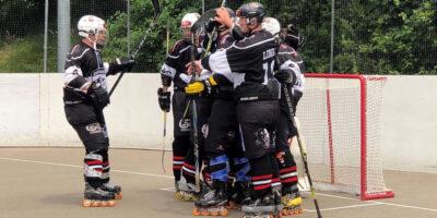 Inline Hockey Cup 1/8-Final: IHC Zofingen Black Panthers - Aire La Ville