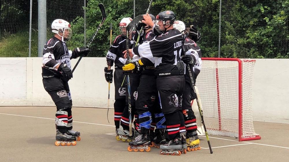 Inline Hockey Cup 1/8-Final: IHC Zofingen Black Panthers – Aire La Ville