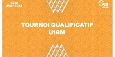 CSJC - TOURNOI QUALIFICATIF U18M: Villars Basket vs. Chêne BBC