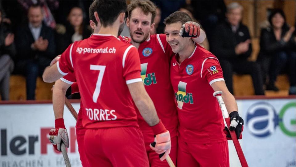 Rollhockey NLA Herren: RHC Diessbach – RHC Dornbirn