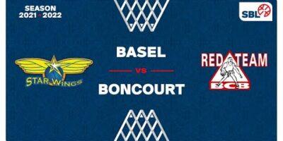 SB League Men - Day 2: STARWINGS vs. BONCOURT