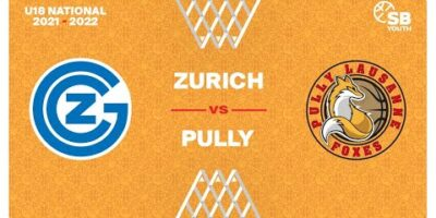 U18 National - Day 3: ZURICH vs. PULLY LAUSANNE