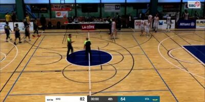 BBC Nyon vs. Starwings Basket - Game Highlights