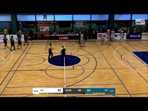 BBC Nyon vs. Starwings Basket – Game Highlights