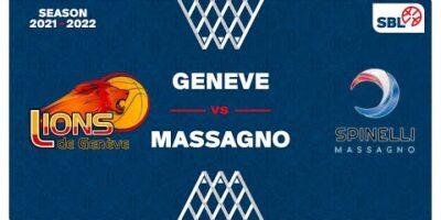 SB League Men - Day 2: GENEVE vs. MASSAGNO