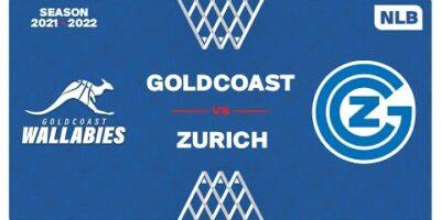 NLB Men - Day 2: GOLDCOAST vs. ZURICH