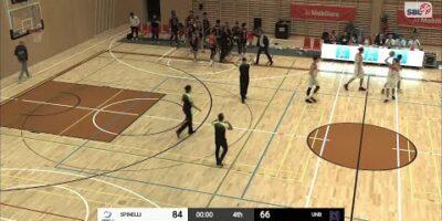 Spinelli Massagno vs. Union Neuchâtel Basket - Game Highlights