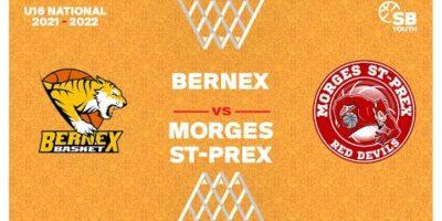 U16 National - Day 2: BERNEX vs. MORGES