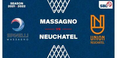 SB League - Day 3: MASSAGNO vs. NEUCHATEL