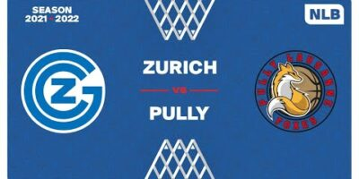 NLB Men - Day 3: ZURICH vs. PULLY LAUSANNE