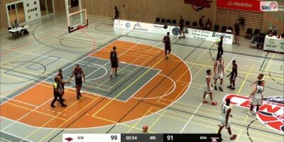 Swiss Central Basketball vs. BC Boncourt - Game Highlights
