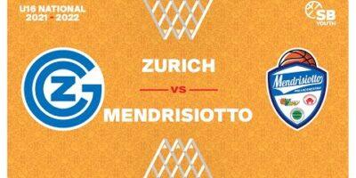 U16 National - Day 5: ZURICH vs. MENDRISIOTTO