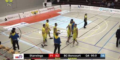 Starwings Basket vs. BC Boncourt - Game Highlights