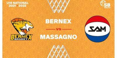 U18 National - Day 2: BERNEX vs. MASSAGNO
