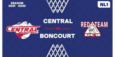 NL1 Men - Day 4: SWISS CENTRAL vs. BONCOURT
