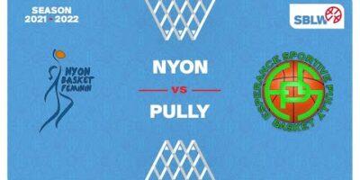 SB League Women - Day 3: NYON vs. PULLY