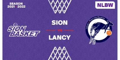 NLB Women - Day 4: SION vs. LANCY