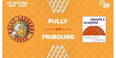 U18 National - Day 2: PULLY LAUSANNE vs. FRIBOURG