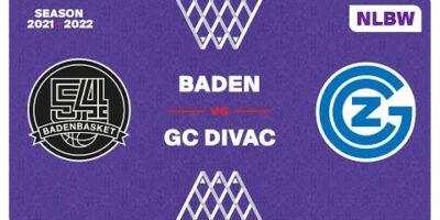 NLB Women - Day 3: BADEN vs. GC DIVAC