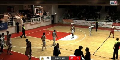 Lugano Tigers vs. Spinelli Massagno - Game Highlights