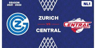 NL1 Men - Day 3: ZURICH vs. SWISS CENTRAL