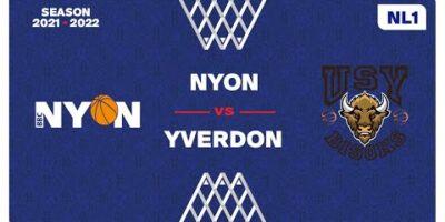 NL1 Men - Day 4: NYON vs. YVERDON