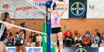 Volleyball NLA Damen: Sm'Aesch Pfeffingen - VBC Cheseaux