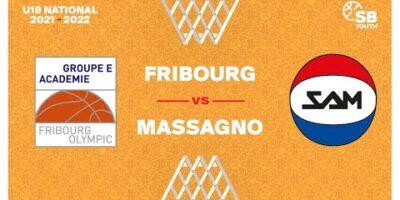 U18 National - Day 3: FRIBOURG vs. MASSAGNO