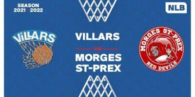 NLB Men - Day 2: VILLARS vs. MORGES