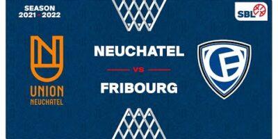 SB League Men - Day 2: NEUCHATEL vs. FRIBOURG
