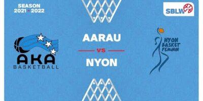 SB League Women - Day 2: AARAU vs. NYON