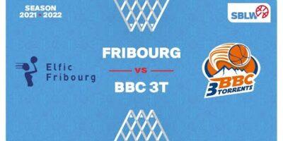 SB League Women - Day 3: FRIBOURG vs. TROISTORRENTS