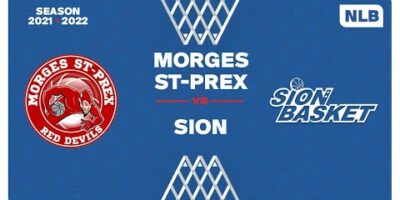 NLB Men - Day 3: MORGES vs. SION