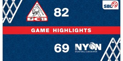 BC Boncourt vs. BBC Nyon - Game Highlights