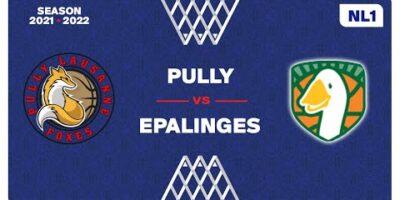 NL1 Men - Day 1: PULLY vs. EPALLINGES