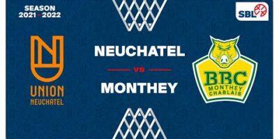 SB League - Day 4: NEUCHATEL vs. MONTHEY