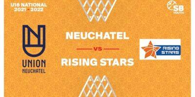 U16 National - Day 2: NEUCHATEL vs. RISING STARS