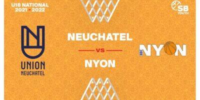 U18 National - Day 3: NEUCHATEL vs. NYON