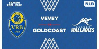 NLB Men - Day 3: VEVEY vs. GOLDCOAST
