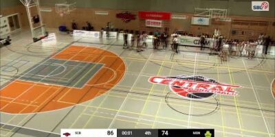 Swiss Central Basketball vs. BBC Monthey-Chablais - Game Highlights
