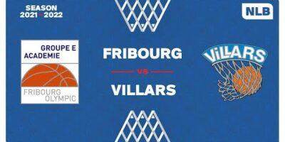 NLB Men - Day 3: FRIBOURG vs. VILLARS
