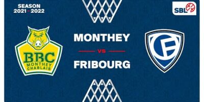 SB League - Day 3: MONTHEY vs. FRIBOURG