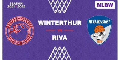 NLB Women - Day 2: WINTERTHUR vs. RIVA
