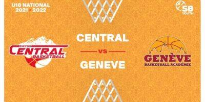 U18 National - Day 3: SWISS CENTRAL vs. GENEVE