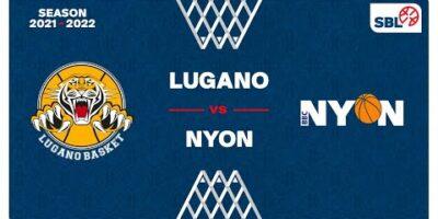 SB League Men - Day 2: LUGANO vs. NYON