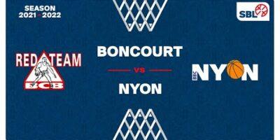 SB League - Day 3: BONCOURT vs. NYON