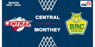 SB League Men - Day 2: SWISS CENTRAL vs. MONTHEY